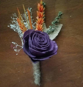 """A Rose By Any Name"" Boutonniere"
