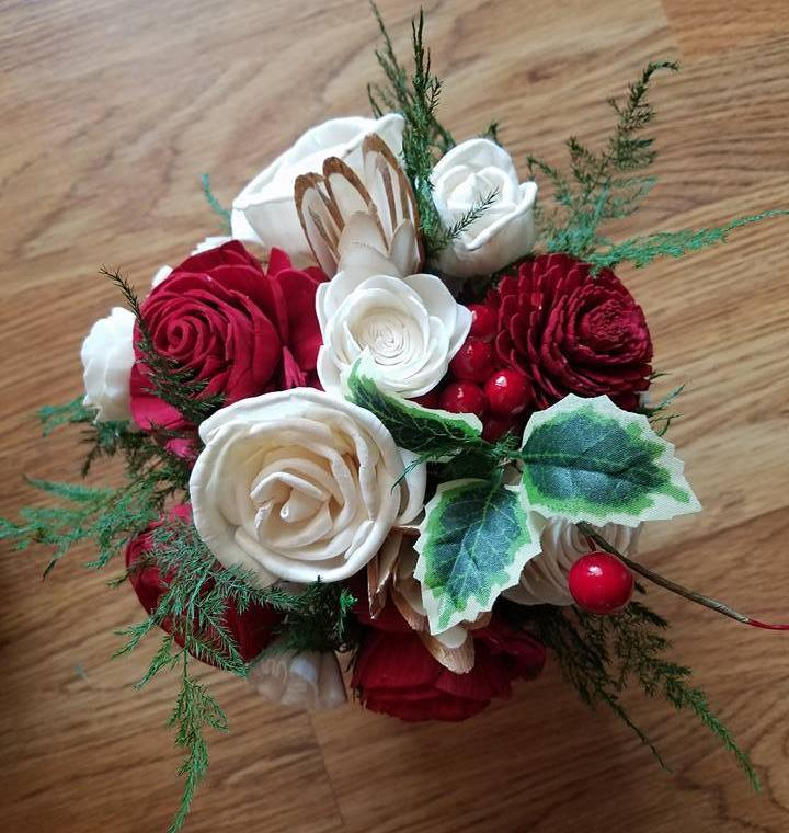 Christmas Cheer Mini Centerpiece