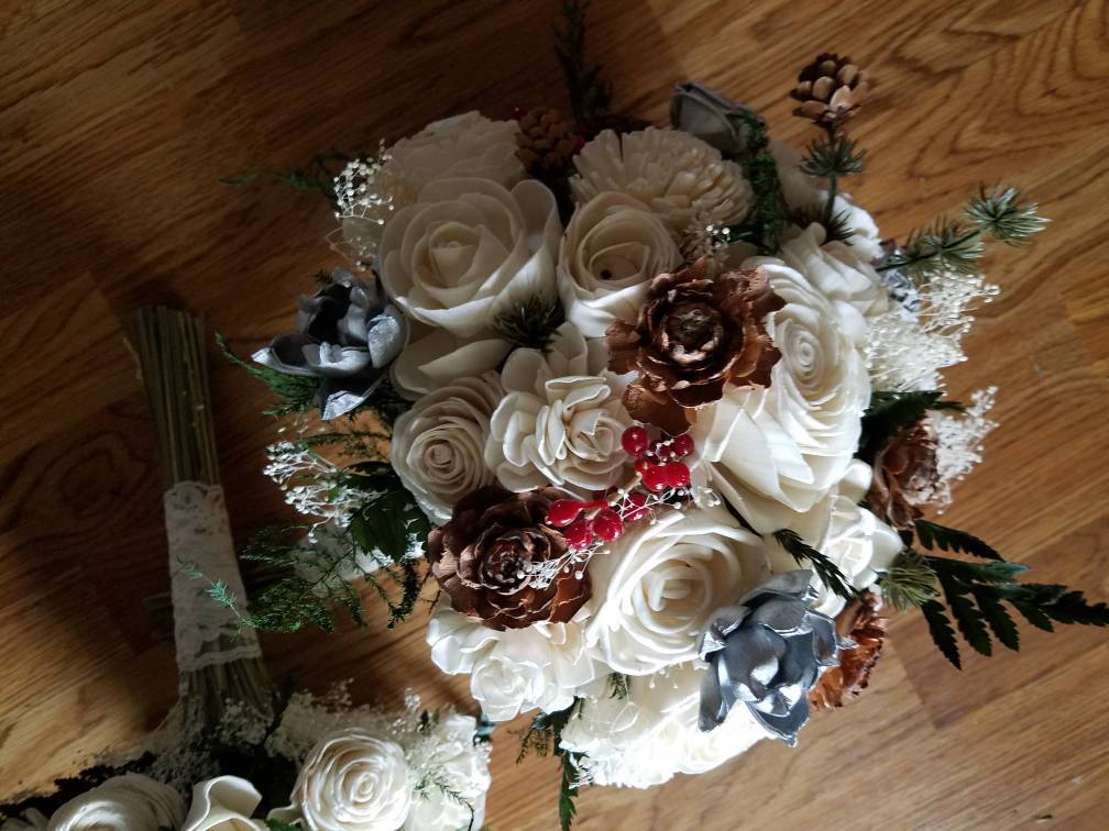 Evergreen Forest Bouquet