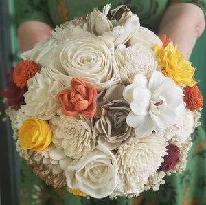 Fall Gold Bouquet