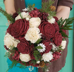Burgundy Winter Charm Bouquet