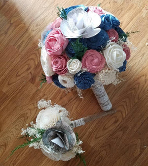 Bohemian Map Bouquet