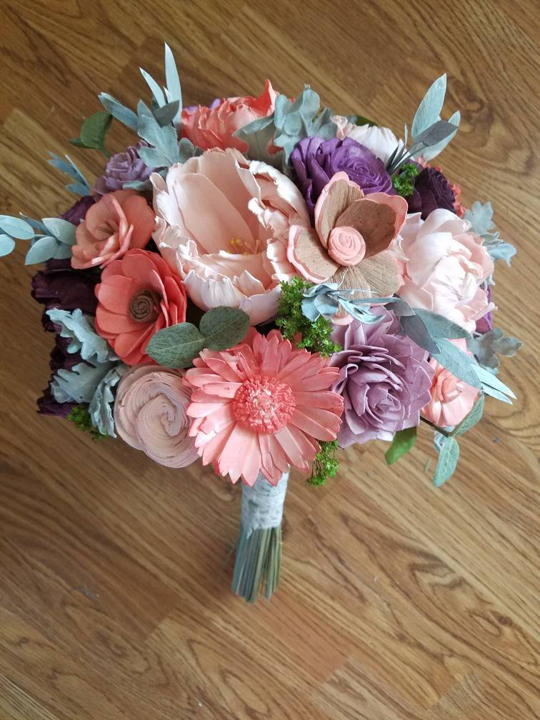 Purple and Pink Summer Bouquet