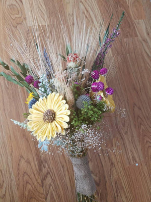 Sunflower Wildflower Bouquet
