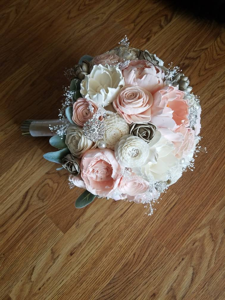 Champagne and Blush Bouquet