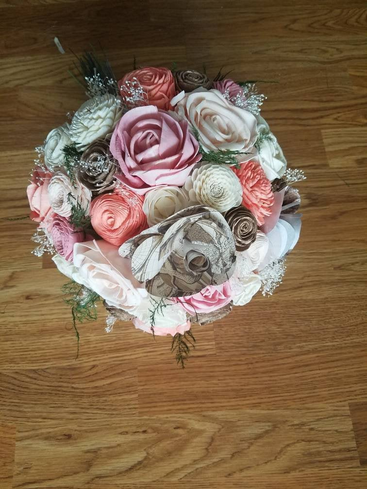 Pink and Coral Wanderlust Bouquet
