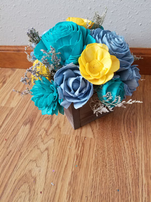 Sunshine Box Centerpiece