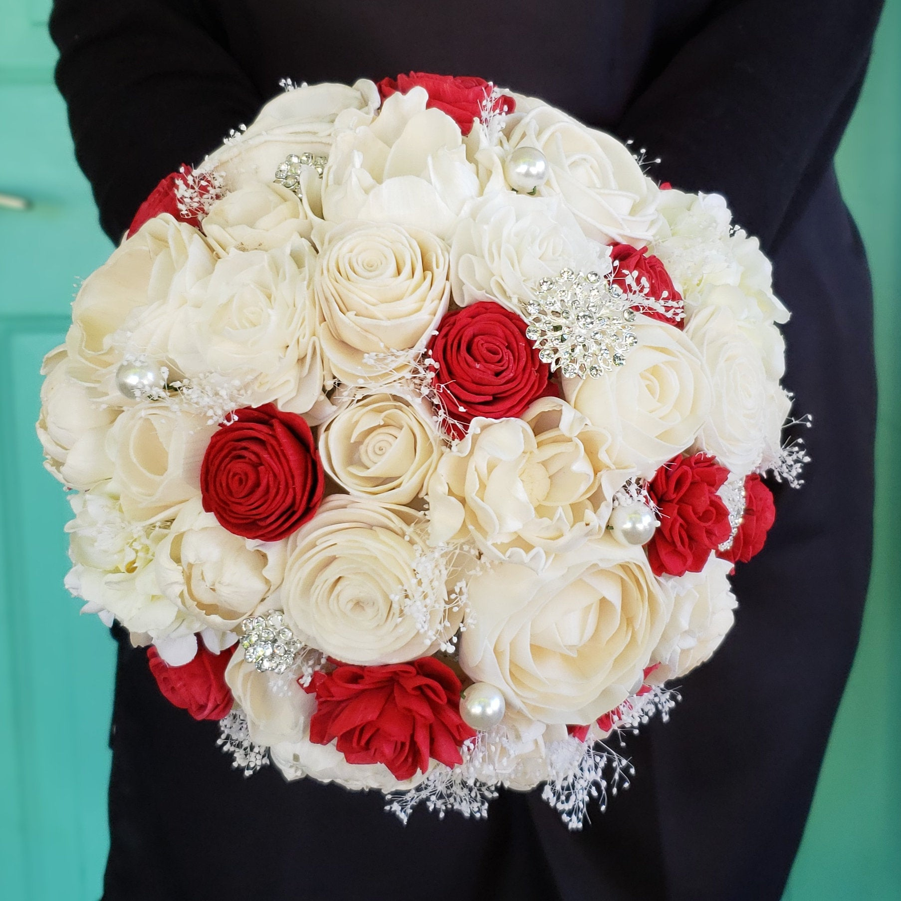 Red Rose Bling Bouquet