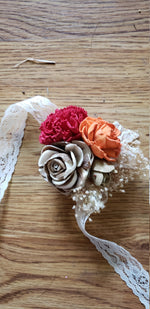 Fall Colors Corsage