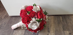 Red Rose Book Bouquet