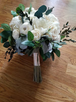 Ivory and Greenery Bouquet