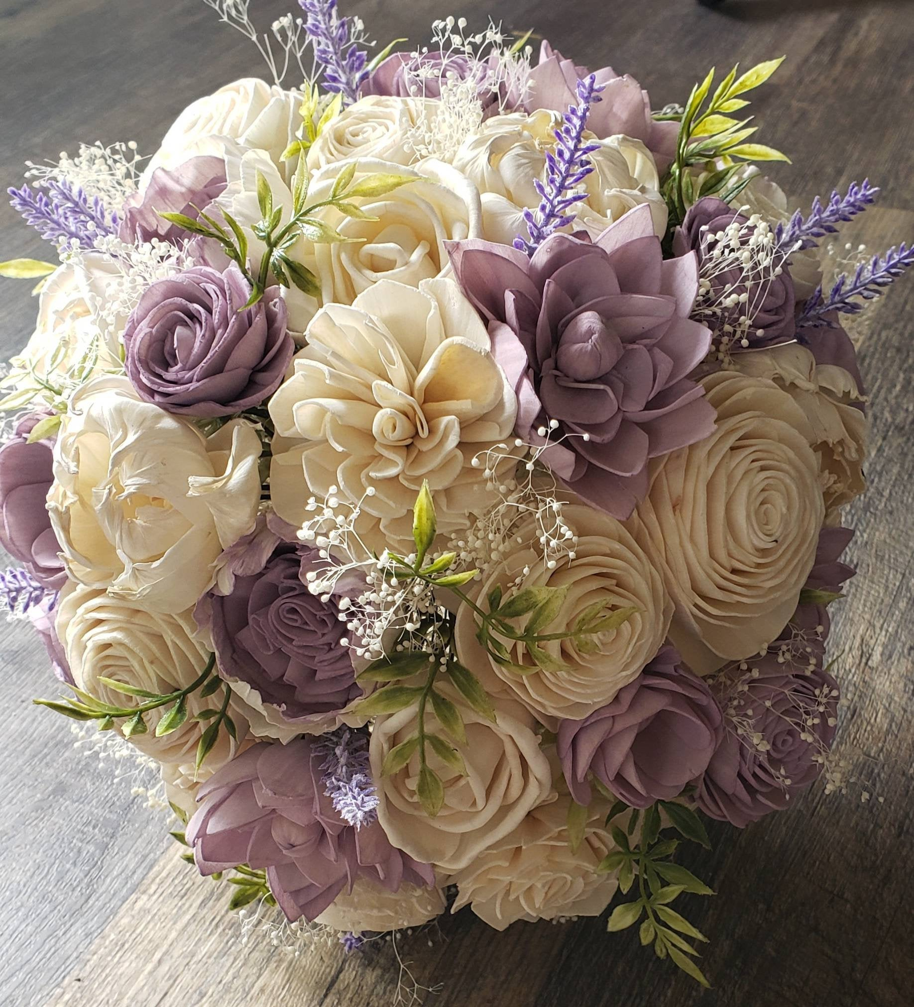 Lilac Purple Bouquet