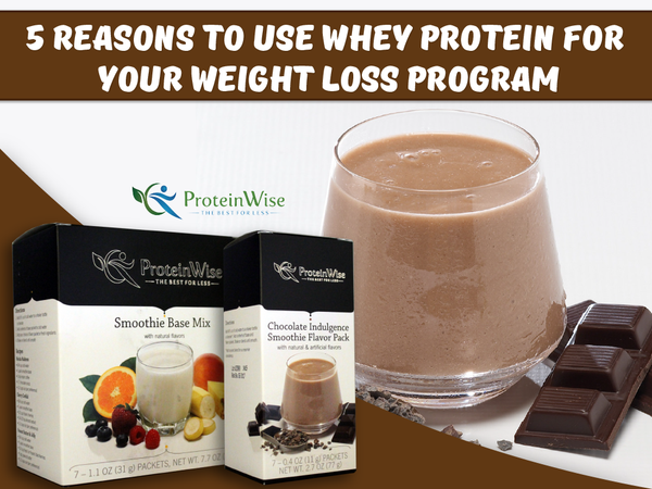 5 Reasons to Use Whey Protein for Your Weight Loss Program