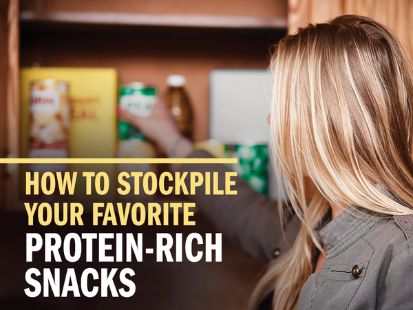How to Create a Stockpile of Your Favorite Protein-Rich Snacks