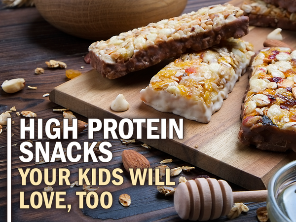 High Protein Snacks Your Kids Will Love Too