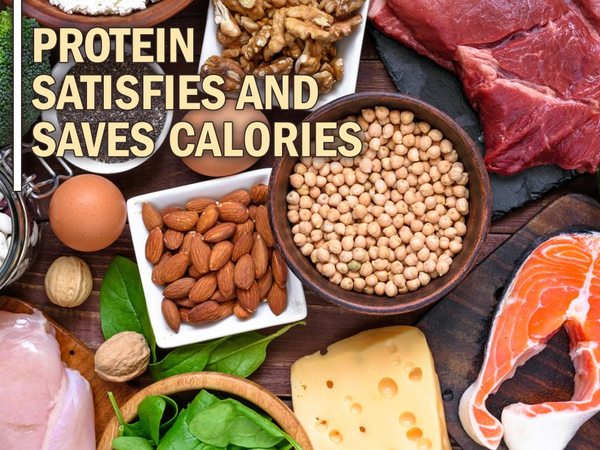 Protein Satisfies and Saves Calories