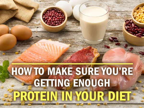 How to Make Sure You're Getting Enough Protein in Your Diet