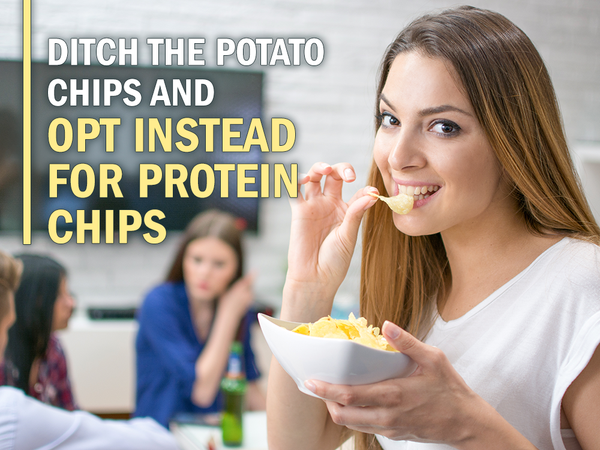 Ditch the Potato Chips and Opt Instead for Protein Chip