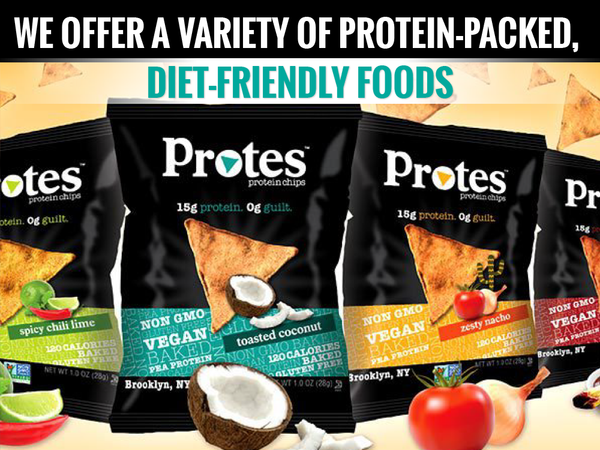 We Offer a Variety of Protein-Packed, Diet-Friendly Foods
