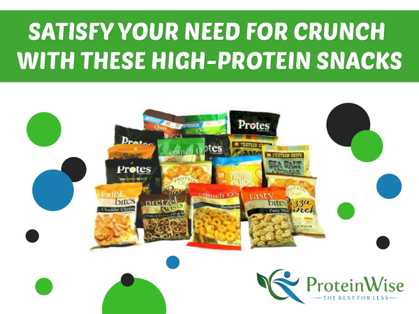 Satisfy Your Need for Crunch with These High-Protein Snacks