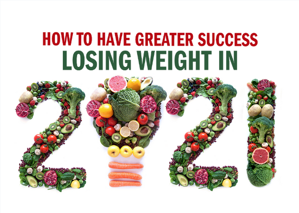 How to Have Greater Success Losing Weight in 2021
