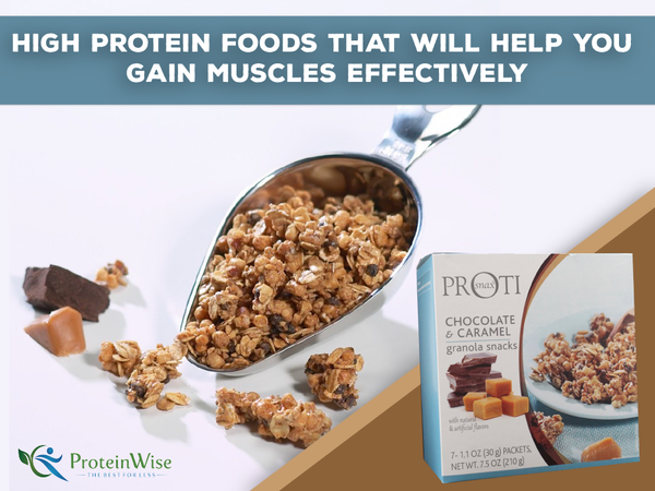High Protein Foods That Will Help You Gain Muscles Effectively