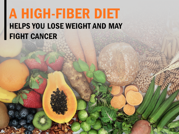 A High-Fiber Diet Helps You Lose Weight and May Fight Cancer