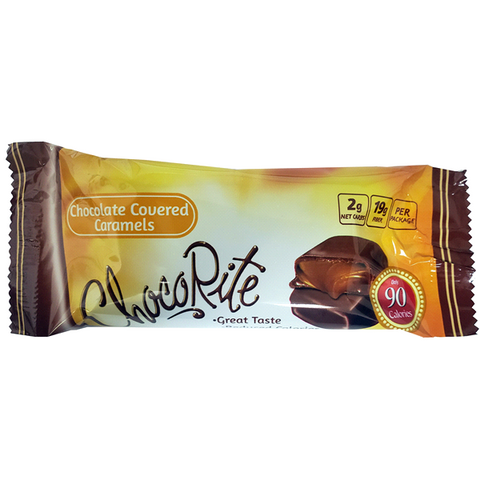 HealthSmart ChocoRite Chocolate Covered Caramels - 2 Piece