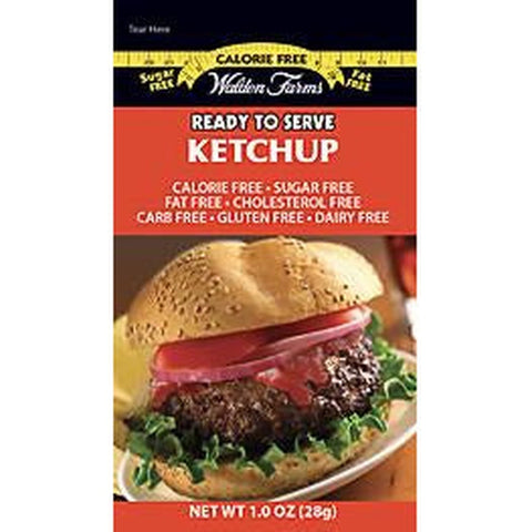 - Walden Farms Calorie Free Ketchup Packets - 6 Packets - ProteinWise
