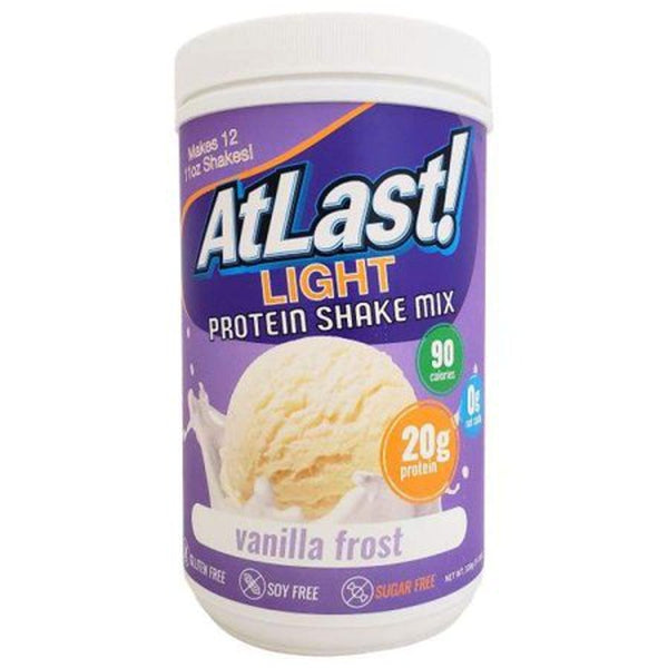 Protein Powders - HealthSmart At Last! Light Protein Shake Mix - Vanilla Frost - ProteinWise