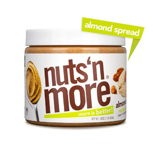 Nuts 'N More High Protein Almond Spread Almond Butter - 16 oz.