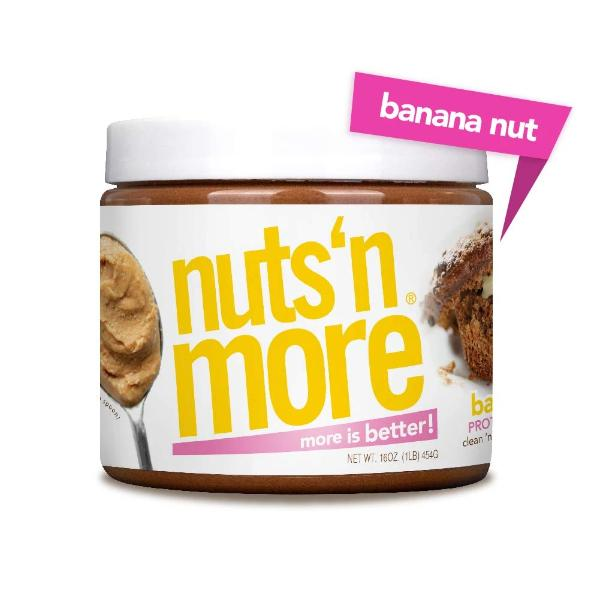 Nuts 'N More High Protein Banana Nut Peanut Butter Spread - 16 oz.