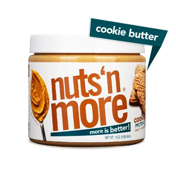 Nuts 'N More High Protein Peanut Spread Cookie Butter - 16oz.