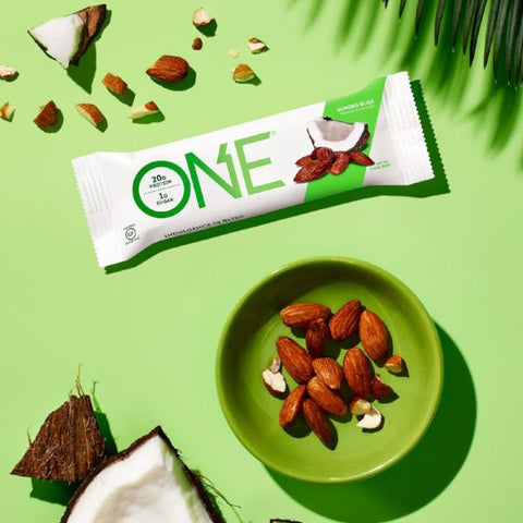 Protein Bars - ONE Protein Bar - Almond Bliss - 12 Bars - ProteinWise
