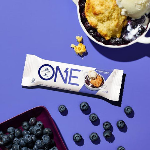 Protein Bars - Oh Yeah! High Protein One Bar - Blueberry Cobbler - 12 Bars - ProteinWise