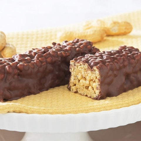 Protein Bars - ProteinWise - Chocolate Covered Peanut Crispy Protein Bar - 7 Bars - ProteinWise