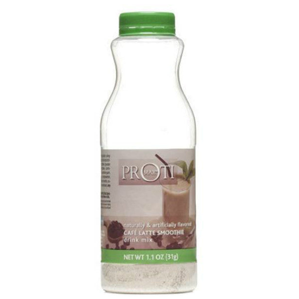 To Go Shaker - Proti Max High Protein Drink - Cafe Latte Smoothie - Single Bottle - ProteinWise