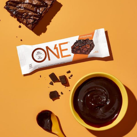Protein Bars - ONE Protein Bar - Chocolate Fudge Brownie - 12 Bars - ProteinWise