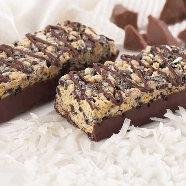 Crispy Protein Bars - ProteinWise - Chocolate Coconut Crispy Protein Bar - 7 Bars - ProteinWise