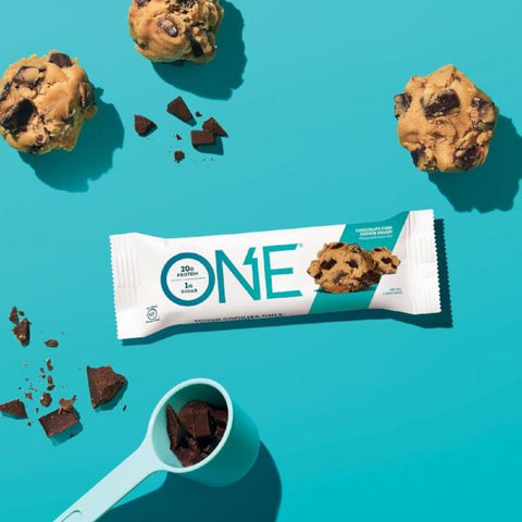 Protein Bars - Oh Yeah! High Protein One Bar - Chocolate Chip Cookie Dough - 12 Bars - ProteinWise