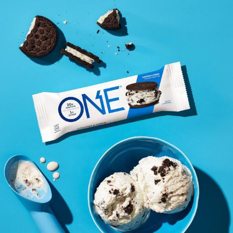 Protein Bars - ONE Protein Bar - Cookies & Creme - 12 Bars - ProteinWise