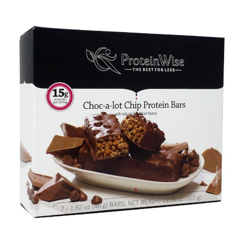 ProteinWise - Choc-a-lot Chip Protein Bars - 7/Box
