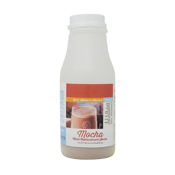 ProteinWise - Mocha - Meal Replacement Shake - 100 Calorie - Single Bottle