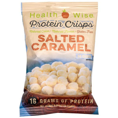 ProteinWise - Salted Caramel Protein Crisps - 1 Bag