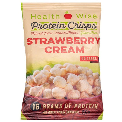 ProteinWise - Strawberry Cream Protein Crisps - 1 Bag
