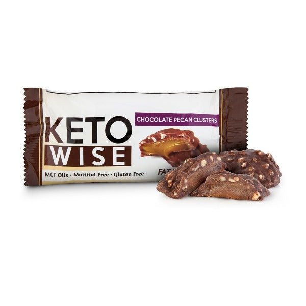Keto Wise Fat Bombs - Chocolate Pecan Clusters - 1 Pack