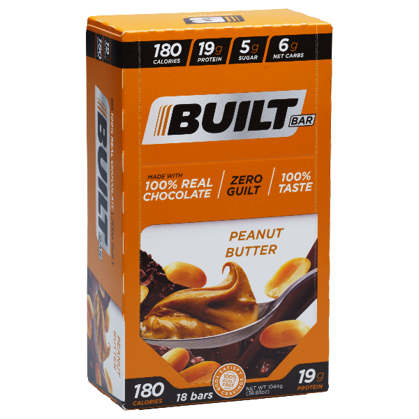 Built Bar - Peanut Butter - 18/Box