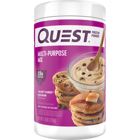 Protein Powder - Quest High Protein Powder - Multi-Purpose Mix  - 1.6 LB - ProteinWise