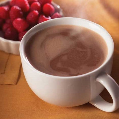 Hot Drinks - ProteinWise - Raspberry Protein Hot Chocolate - 7/Box - ProteinWise