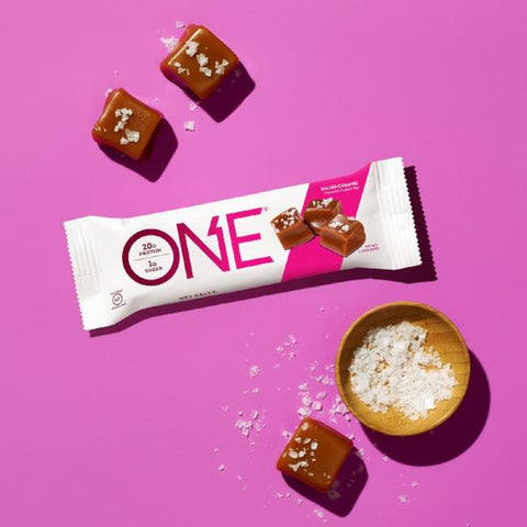 Protein Bars - ONE Protein  Bar - Salted Caramel - 12 Bars - ProteinWise